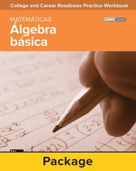 College and Career Readiness Skills Practice Workbook: Basic Algebra Spanish Edition, 10-pack