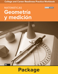 College and Career Readiness Skills Practice Workbook: Geometry and Measurement Spanish Edition, 10-pack