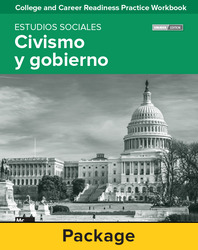 College and Career Readiness Skills Practice Workbook: Civics and Government Spanish Edition, 10-pack