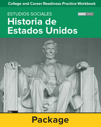 College and Career Readiness Skills Practice Workbook: U.S. History Spanish Edition, 10-pack