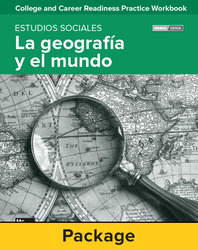 College and Career Readiness Skills Practice Workbook: Geography and The World Spanish Edition, 10-pack