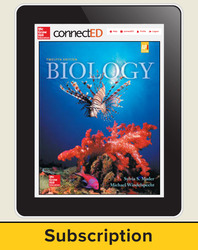 Mader, Biology © 2016, 12e (Reinforced Binding) ConnectEd eBook, 1-year subscription