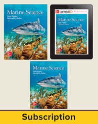 Castro, Marine Science © 2016, 1e, Deluxe Student Bundle (Student Edition with ConnectED eBook, Lab Manual), 1-year subscription