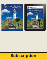 Bluman, Elementary Statistics © 2015, 9e Premium Print Bundle, 40-week Subscription