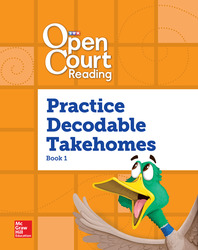 Open Court Reading, Practice PreDecodable and Decodable 4-color Takehome Book 1, Grade 1