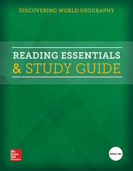 Discovering World Geography, Reading Essentials & Study Guide, Student Edition