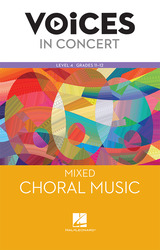 Hal Leonard Voices in Concert, Level 4 Mixed Choral Music Book