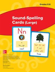 Wonders Sound-Spelling Cards (Large), Grades K-6