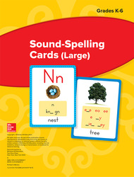 Wonders Sound-Spelling Cards (Large), Grades K-6