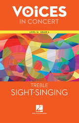 Hal Leonard Voices in Concert, Level 1A Treble Sight-Singing Book