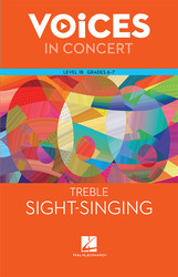Hal Leonard Voices in Concert, Level 1B Treble Sight-Singing Book
