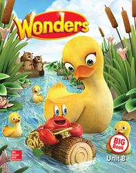 Wonders Reading/Writing Workshop Big Book, Volume 8, Grade K