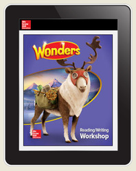 Wonders Student Online Workspace 6-Year Online Subscription, Grade 5