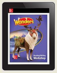 Wonders Student Online Workspace 6-Year Online Subscription, Grade 5