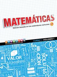 Glencoe Math, Course 1, Volume 1, Spanish Student Edition