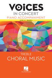 Hal Leonard Voices in Concert, Level 1A Treble Piano Accompaniment Book