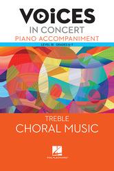 Hal Leonard Voices in Concert, Level 1B Treble Piano Accompaniment Book