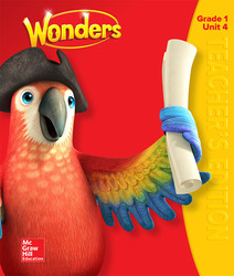 Wonders Teacher's Edition, Volume 4, Grade 1