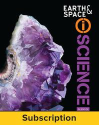 Earth & Space iScience, eTeacher Edition with LearnSmart, 6-yr subscription