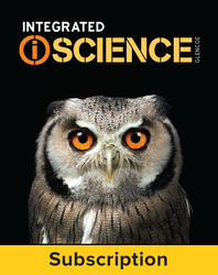 Integrated iScience, Course 3, eStudent Edition, 1-yr subscription