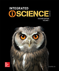 Integrated iScience, Course 3, Teacher Edition Vol. 1