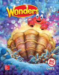 Wonders Reading/Writing Workshop Big Book, Grade K, Volume 1