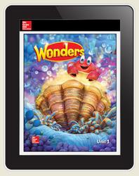 Wonders Student Online Workspace 6-Year Online Subscription, Grade K