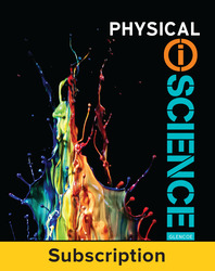 Physical iScience, eStudent Edition, 1-yr subscription