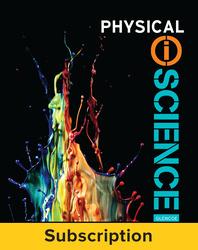 Physical iScience, eTeacher Edition, 6-yr subscription