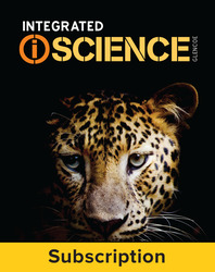 Integrated iScience, Course 2, Complete Student Bundle, 1-year subscription