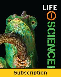 Life iScience, eStudent Edition, 6-yr subscription