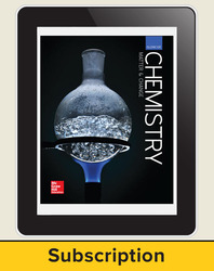 Glencoe Chemistry: Matter and Change, eStudent Edition with LearnSmart, 1-year subscription