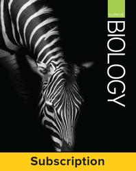 Glencoe Biology, Complete Student Bundle, 1-year subscription