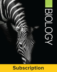 Glencoe Biology, Complete Student Bundle, 1-year subscription