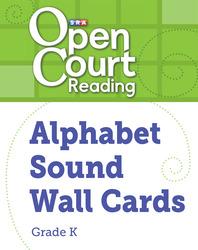 Open Court Reading Alphabet Sound Wall Cards, Grade K