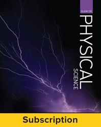 Glencoe Physical Science, Complete Teacher Bundle, 6-year subscription