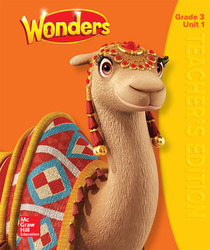 Wonders Teacher's Edition, Volume 1, Grade 3