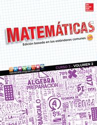 Glencoe Math, Course 3, Volume 2, Spanish Student Edition