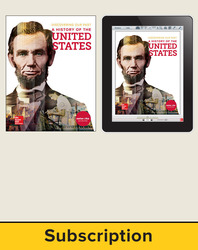 Discovering Our Past: A History of the United States, Student Suite with LearnSmart Bundle, 6-year subscription