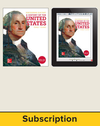 Discovering Our Past: A History of the United States-Early Years, Student Suite with LearnSmart Bundle, 6-year subscription
