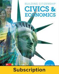 Building Citizenship: Civics and Economics, Student Suite with LearnSmart Bundle, 6-year subscription