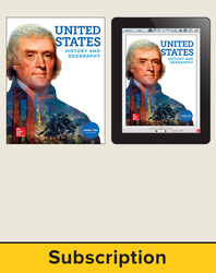 United States History and Geography, Student Suite with LearnSmart Bundle, 1-year subscription