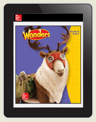 Wonders Teacher Online Workspace 6-Year Online Subscription, Grade 5