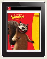 Wonders Teacher Online Workspace 6-Year Online Subscription, Grade 1