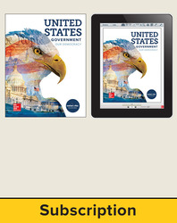 United States Government: Our Democracy, Student Suite with LearnSmart Bundle, 1-year subscription