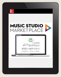 Music Studio Marketplace, Hal Leonard Levels 1-2: Tenor/Bass Holiday Choral Music, 6-year Digital Bundle subscription