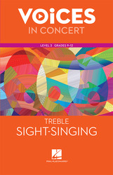 Hal Leonard Voices in Concert, Level 3 Treble Sight-Singing Book