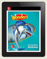 Wonders Student Online Workspace 6-Year Online Subscription, Grade 2
