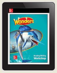 Wonders Student Online Workspace 6-Year Online Subscription, Grade 2