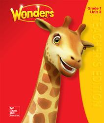 Wonders Teacher's Edition, Volume 3,  Grade 1